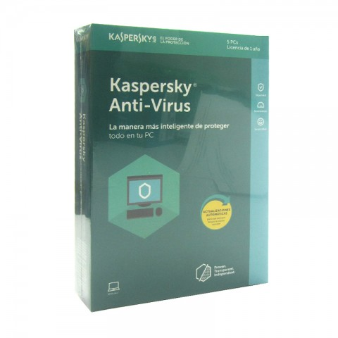KASPERSKY ANTIVIRUS 5PC