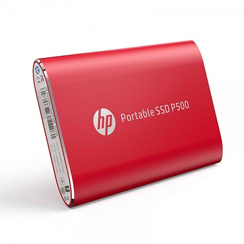 SSD EXT HP P500 500GB RED