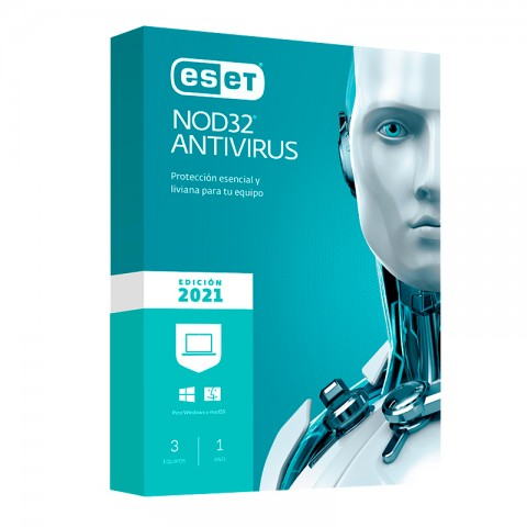 ESET ANTIVIRUS NOD 32 2021 3PC