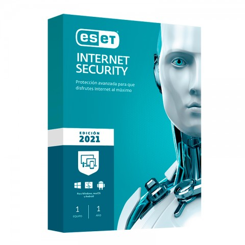 ESET INT SECURITY 2021 1PC