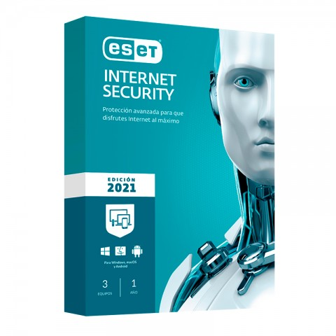ESET INT SECURITY 2021 3PC