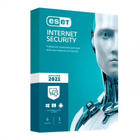 ESET INT SECURITY 2021 6PC