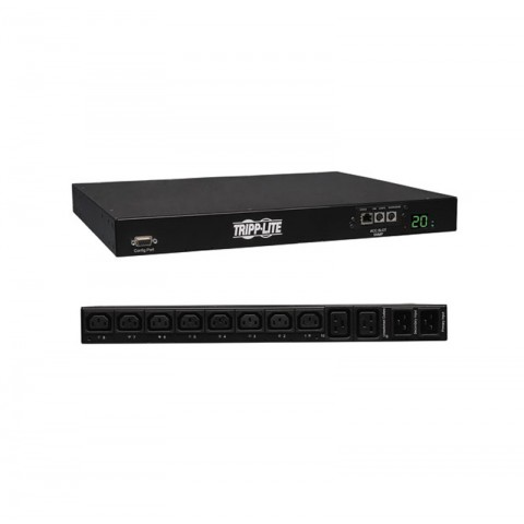SWITCHED PDU WITH ATS, 20A, 10